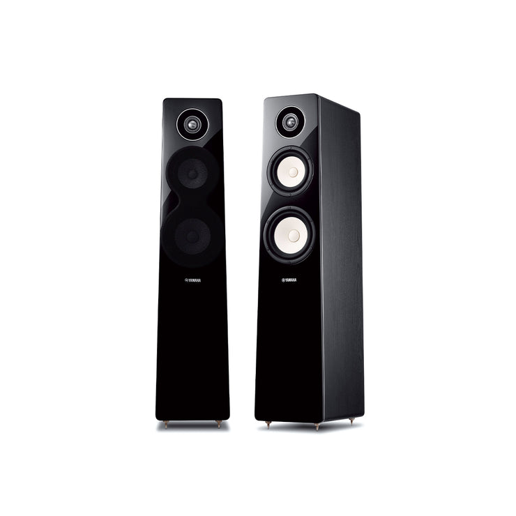 Yamaha floorstanding stereo speakers ns f500 - Audio Influence Australia
