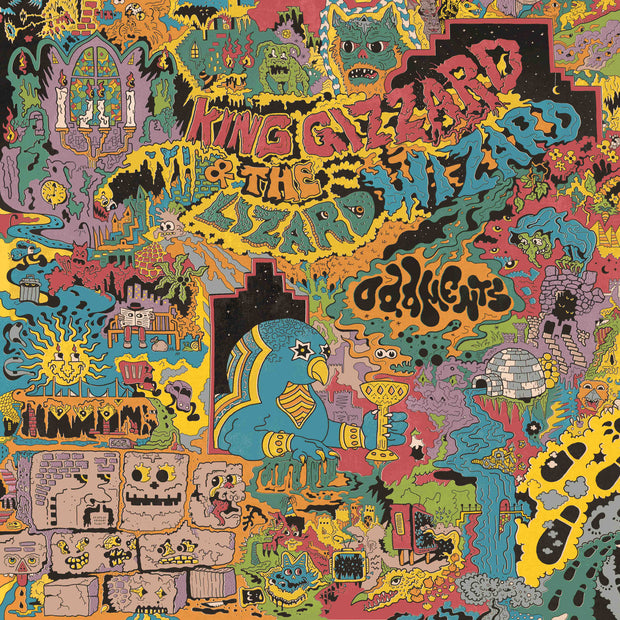 King Gizzard and the Lizard Wizard - Oddments LP record - Audio Influence