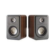 Polk Signature Series S15 Compact Bookshelf Speakers Walnut (Ex-Display)