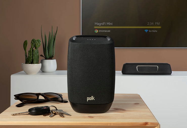 Polk MagniFi Mini Compact Home Theatre Sound Bar with Wireless Subwoofer