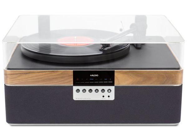 The+Record Player Music System in Walnut From PLUS AUDIO