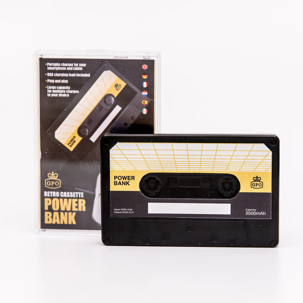 GPO CASSETTE POWER BANK