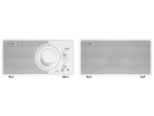 The+Radio Stereo AM/FM BT Bluetooth Radio From PLUS AUDIO in Matt White