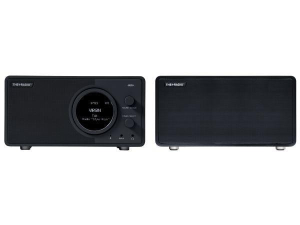 The Plus Radio Stereo DAB+ BT Matt Anthracite