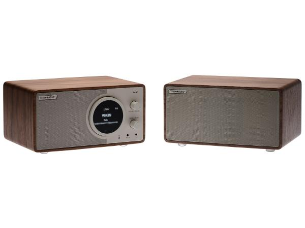 The Plus Radio Stereo DAB+ BT Cherry/White