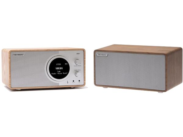 The Plus Radio Stereo DAB+ BT Oak/Silver - Audio Influence