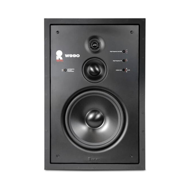 w990 in wall loudspeaker - Audio Influence Australia