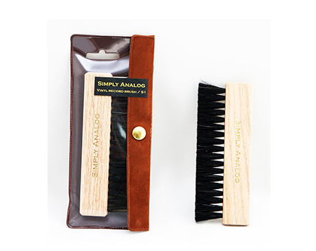 Simply Analog Anti-Static Wooden Brush
