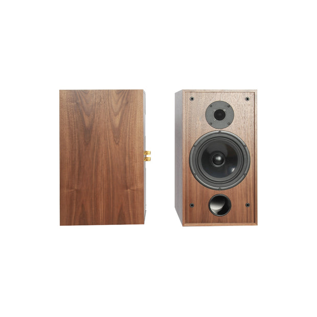 Stirling Broadcast SB88 Audiophile Bookshelf Speakers In Walnut