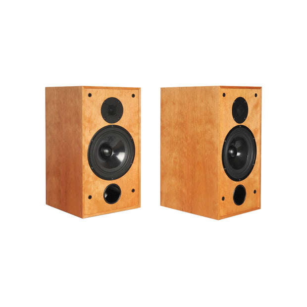 Stirling Broadcast SB88 Audiophile Bookshelf Speakers In Cherry