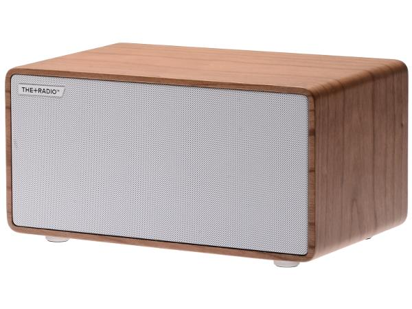 The Plus Radio Speaker Cherry/White - Audio Influence