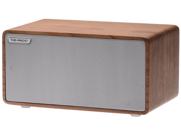 The Plus Radio Speaker Oak/Silver - Audio Influence