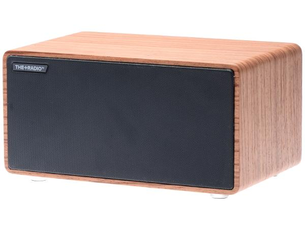 The+Radio Speaker Add-On From PLUS AUDIO in Rosewood/Anthracite