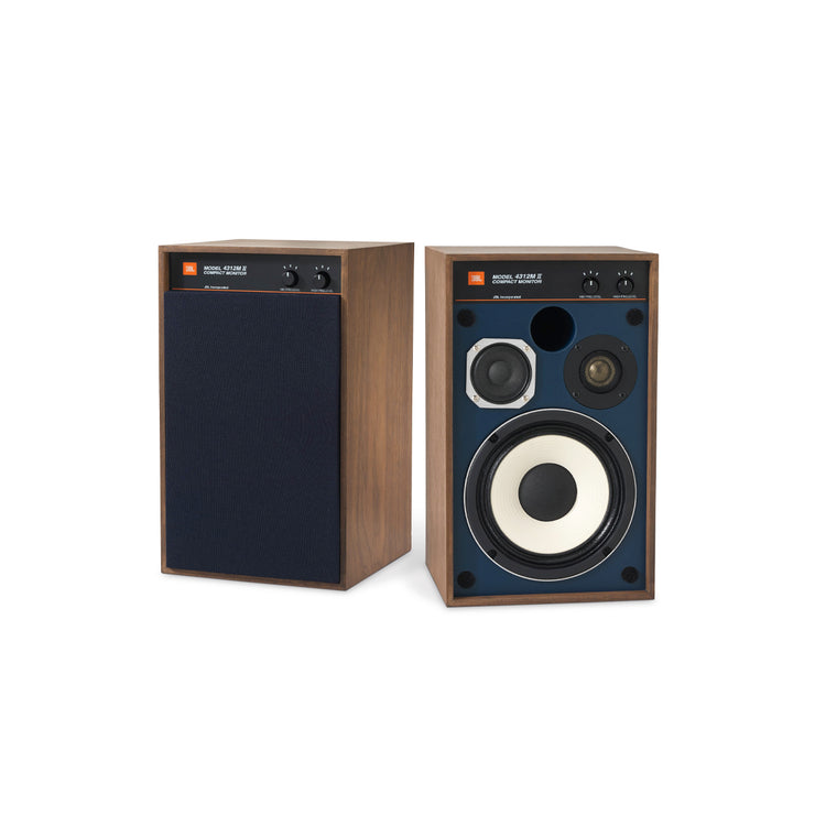 JBL studio monitor bookshelf speakers 4312 mkii - Audio Influence Australia