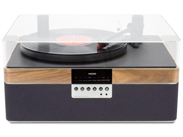 Plus Audio The Plus Record Player Special Edition Walnut - Audio Influence