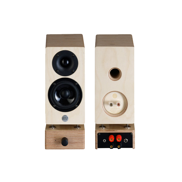 Well Rounded Sound MM2 Active Powered Mini Bookshelf Speakers - Audio Influence Australia 2