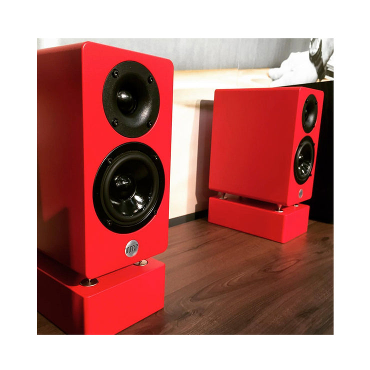 Well Rounded Sound MM2 Active Powered Mini Bookshelf Speakers - Audio Influence Australia 4