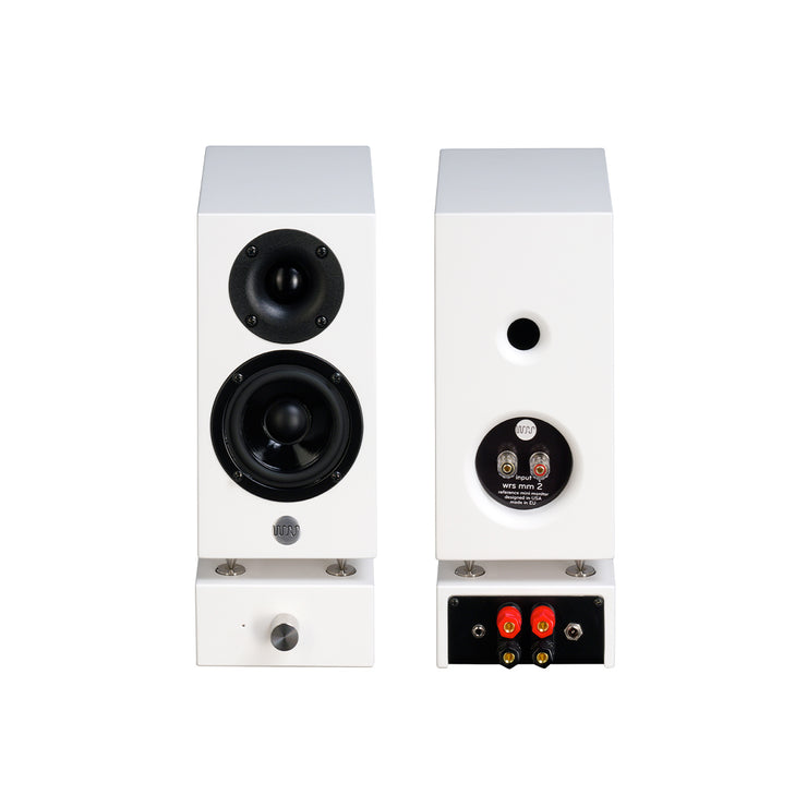 Well Rounded Sound MM2 Active Powered Mini Bookshelf Speakers - Audio Influence Australia 3