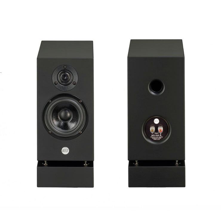 Well Rounded Sound MM6 Mini Monitor Bookshelf Speakers - Audio Influence Australia 3