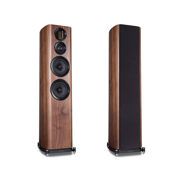 Wharfedale evo 4 4 floorstanding stereo speakers - Audio Influence Australia