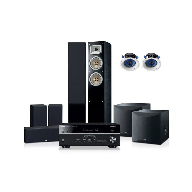 Yamaha blockbuster 6500 home theatre system - Audio Influence Australia