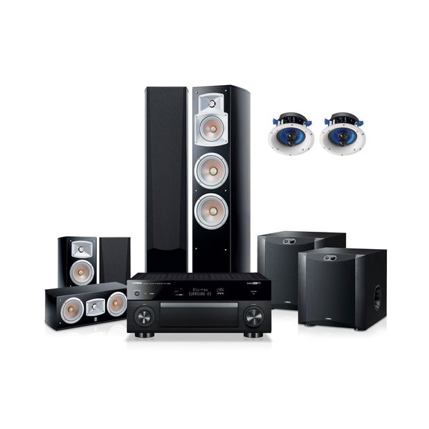 Yamaha blockbuster 7500 home theatre system - Audio Influence Australia