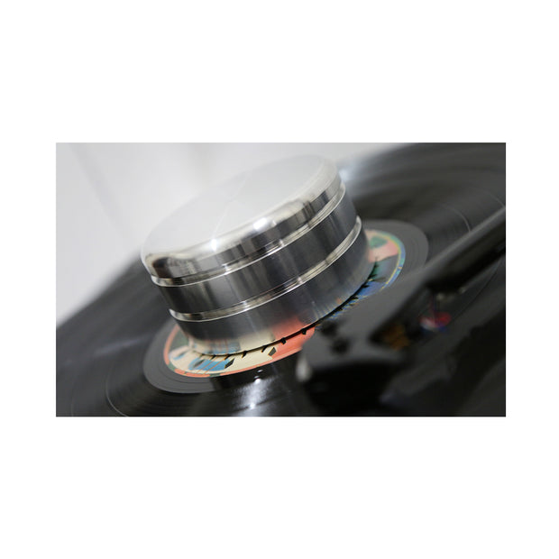 New Horizon gd clamp turntable record stabilizer - Audio Influence Australia 2