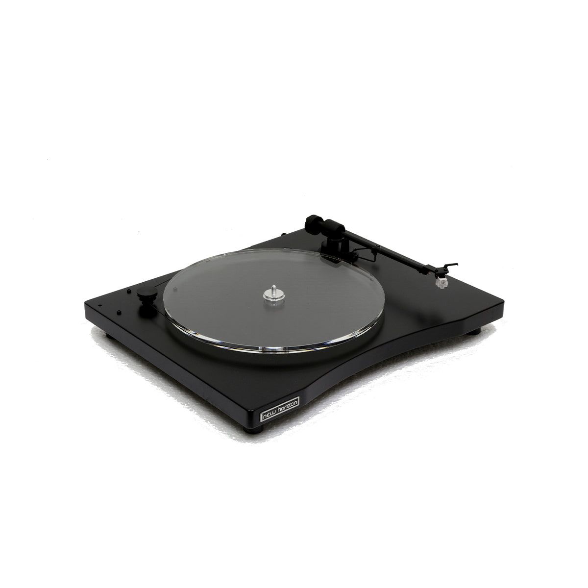 New Horizon Premium Belt Drive Turntable GD 1 with cover and cartridge