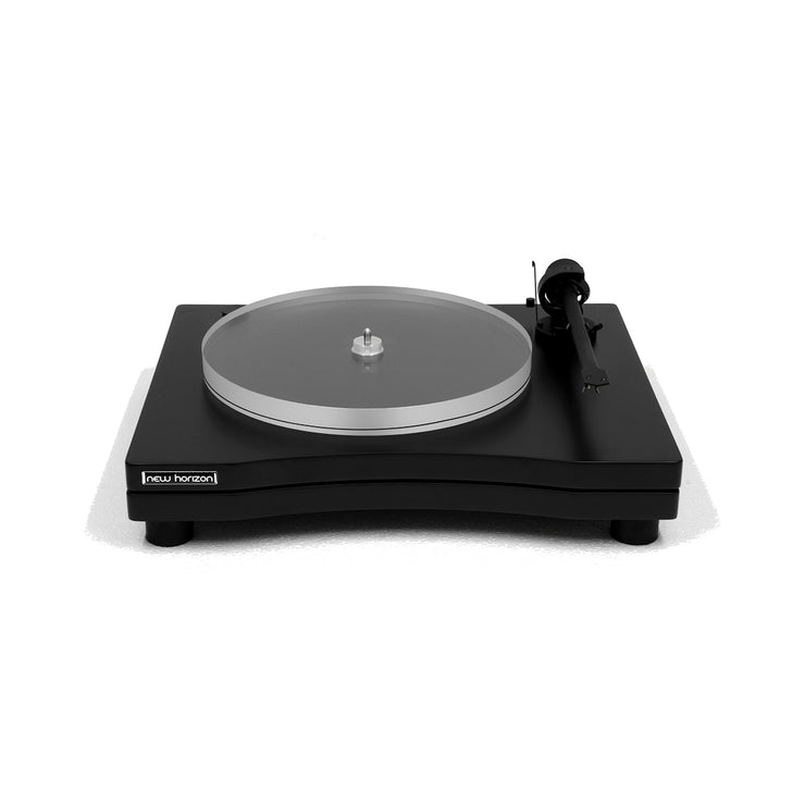 New Horizon turntable gd 2 25 with cover - Audio Influence Australia 4