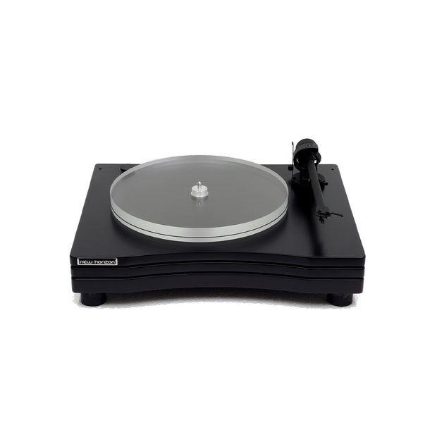 New Horizon turntable gd 3 with cover - Audio Influence Australia