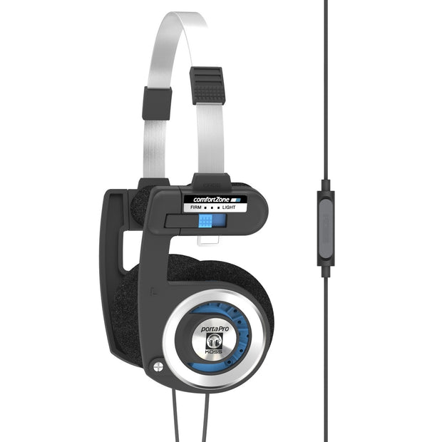 Koss porta pro with mic on ear headphones - Audio Influence Australia