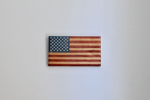 "Mini American Flag - ""Young Glory"""