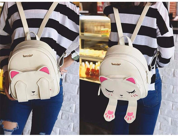 Cute Cat Backpack Travel bag