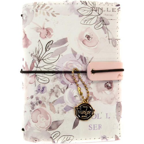 New 2018 Prima Travelers Notebook Journal Lavender Frost  - Passport Size