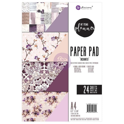 My Prima Planner A4 Paper Pad - Enchanted - 596545