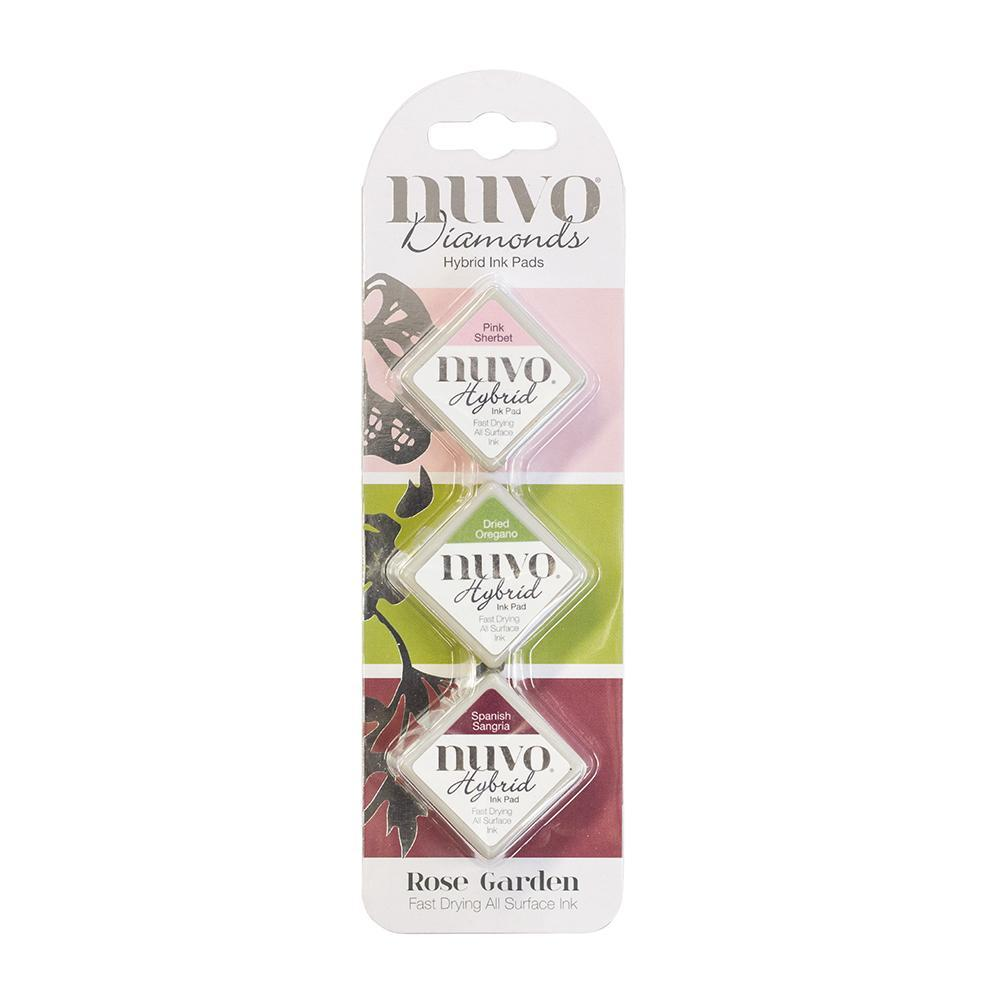 Nuvo - Tonic Studios - Hybrid ink - Diamonds Set - Rose Garden