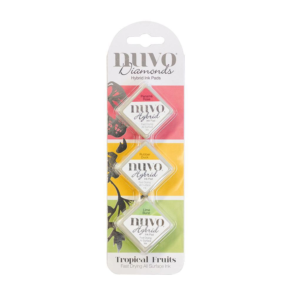 Nuvo - Tonic Studios - Hybrid ink - Diamonds Set - Tropical Fruits