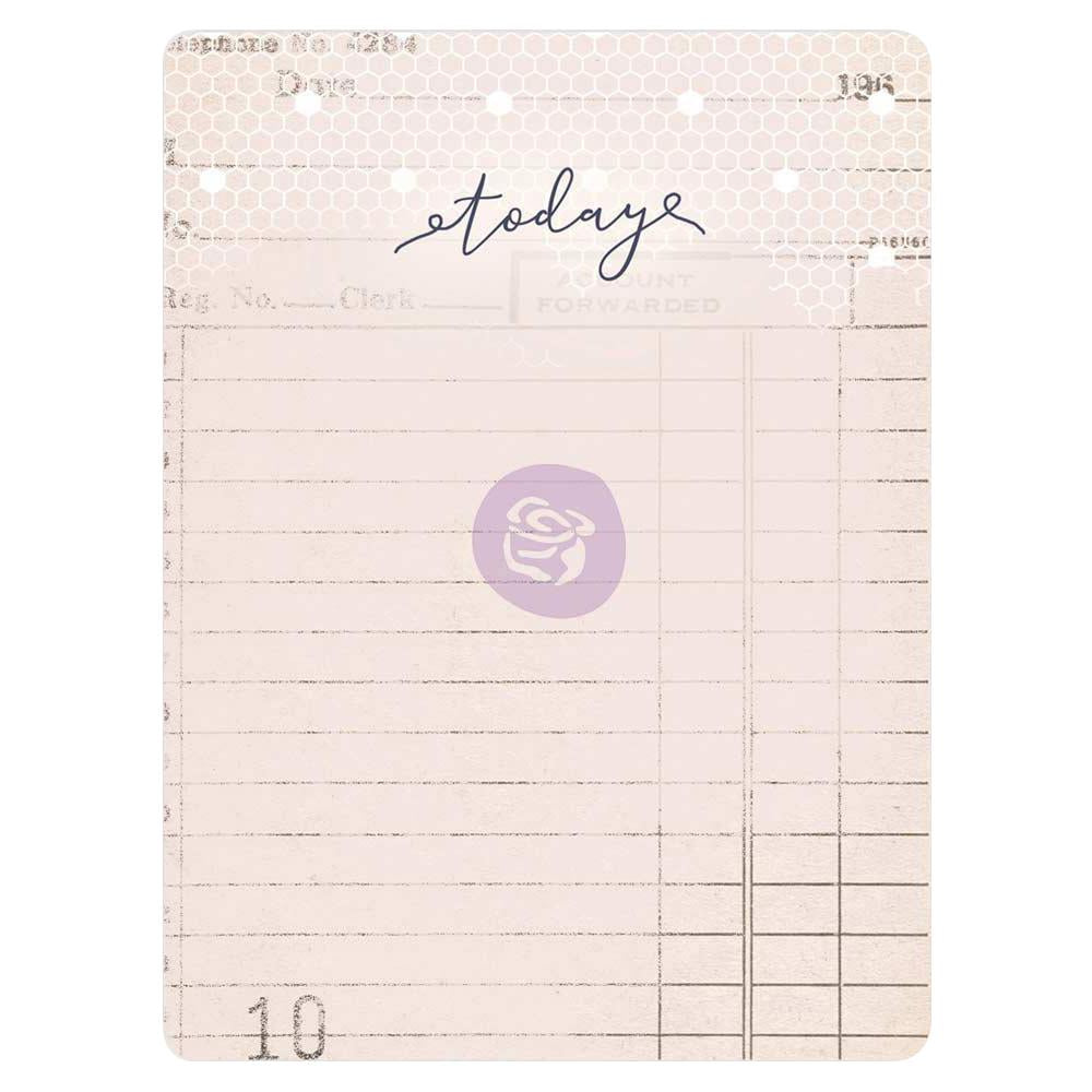 "New Prima Journaling Cards - 45 sheets - 3x4"" - Lavender - 630126"