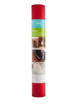 "Cricut Adhesive Foil 12x48"" Roll - Red Stainless - 2004064"