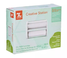 "Refill for 5"" Xyron Creative Station in permanent or repositional"