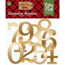 New Echo Park Decorative Numbers - Celebrate Christmas - Cch159029