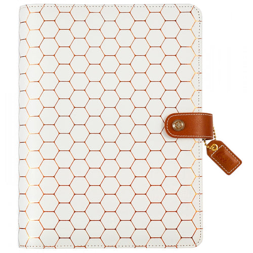 New 2018 Webster's Pages Colour Crush A5 Planner Kit - Copper Hexagon