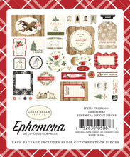 New Carta Bella Paper Co Ephemera - Christmas - CBCH89024