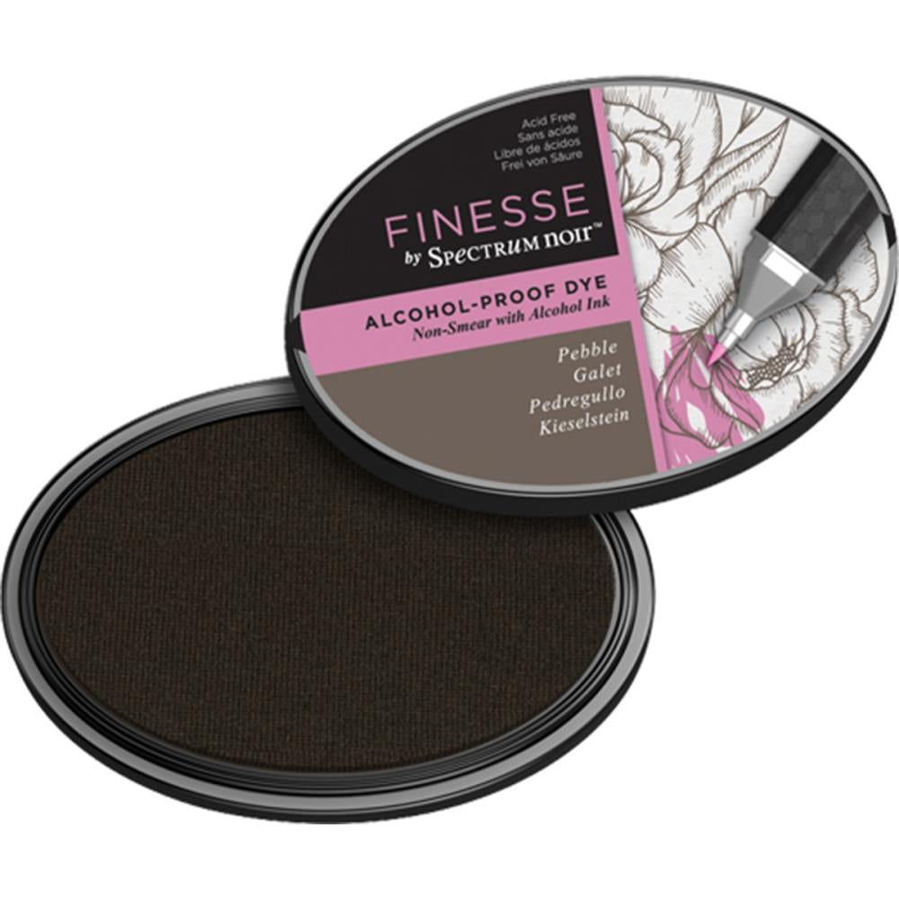 Spectrum Noir Finesse, Alcohol Proof Dye Ink Pad - Pebble