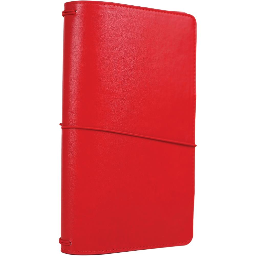 "New 2018 Echo Park Travelers Notebook 6x9"" - Red"