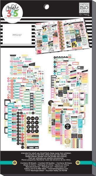 Fitness Value Pack 1475 pieces- Me and My Big Ideas Create 365 Happy Planner Sti