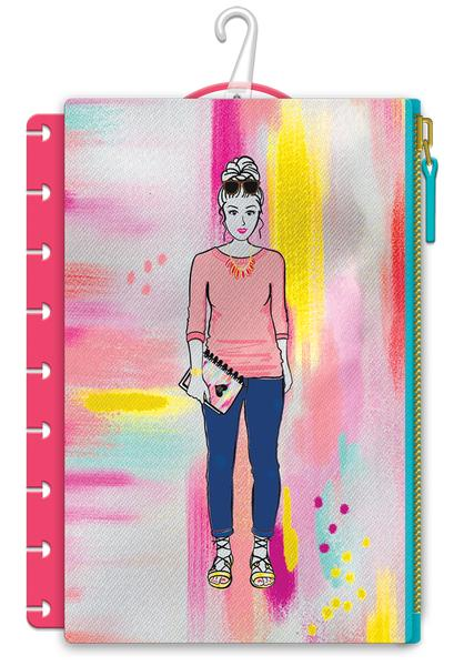 New Super Mom Classic Happy Planner Snap in pen pouch -pls-20
