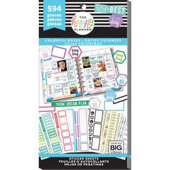 Colourful Boxes 594 pieces Me and My Big Ideas Create 365 Happy Planner Stickers