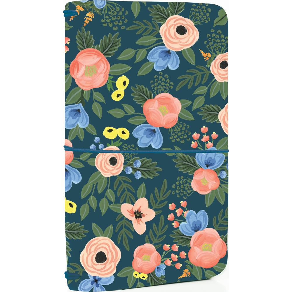 "Echo Park Travelers Notebook 6x9"" - Navy Floral"
