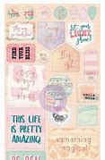 My Prima Planner 110Pieces Ephermera and Stickers - Sweet Notes - 591984